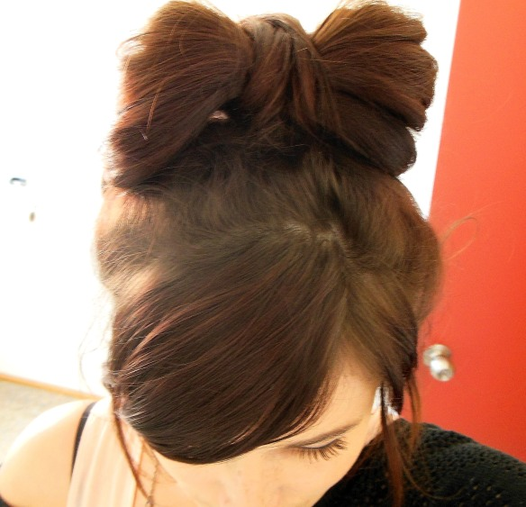 DIY Imperfect Hair Bow
