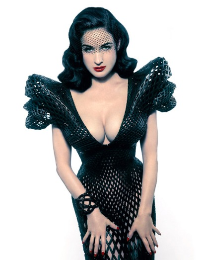 3Dprinted-dress-for-Dita-Von-Teese