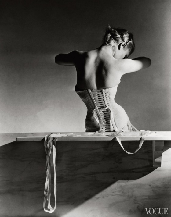 Photographed by Horst P. Horst, Vogue, September 1939