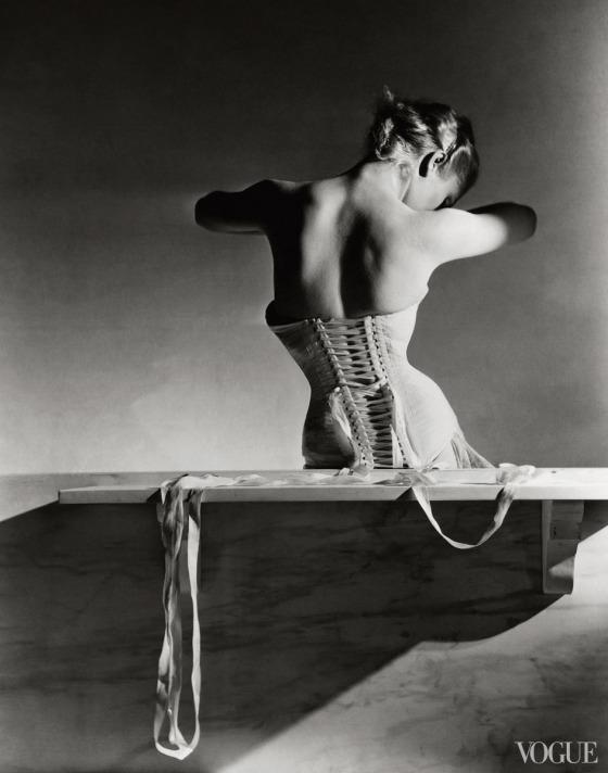 Photographed by Horst P. Horst, Vogue, September 1939