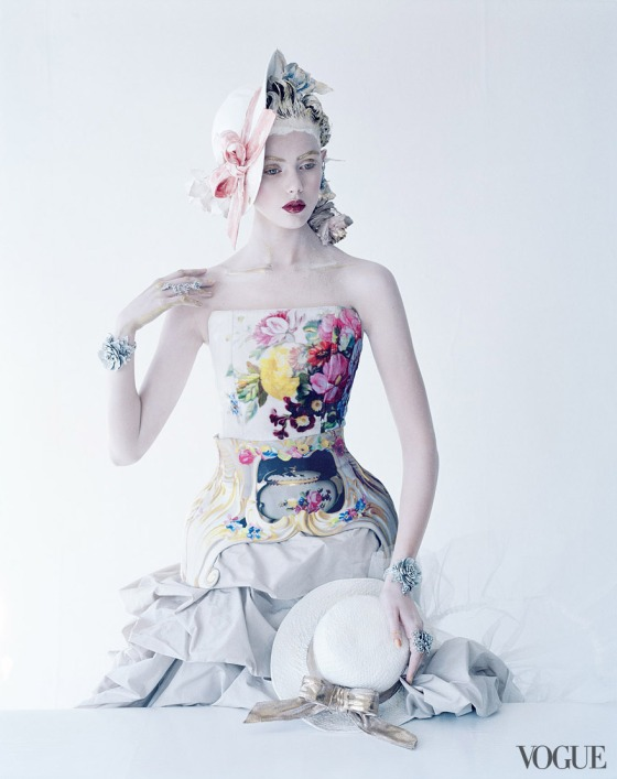 Photographed by Tim Walker, Vogue, January 2012