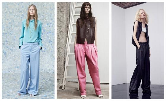 designer loose pant spring trouser