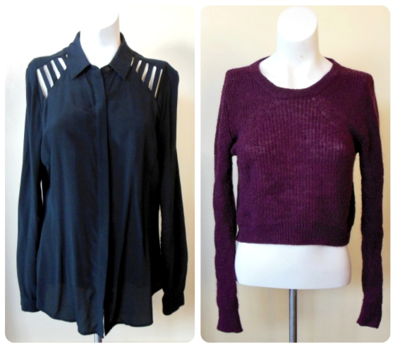 2tops, cue, veronika maine, work outfits